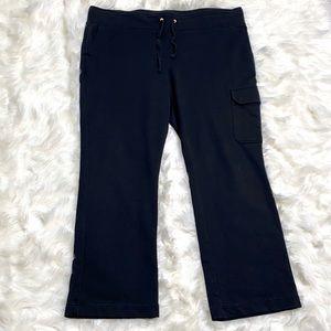 Ralph Lauren Pants & Jumpsuits - Ralph Lauren Soft Black Drawstring Sweatpants EUC